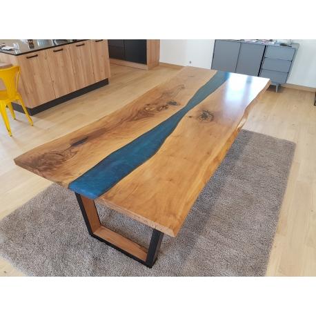 Table époxy / rivertable